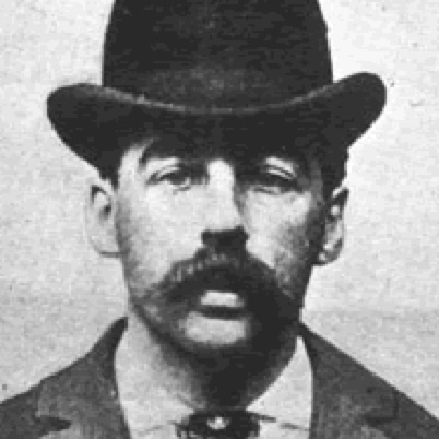 H H Holmes - First American Serial Killer - Mugshot