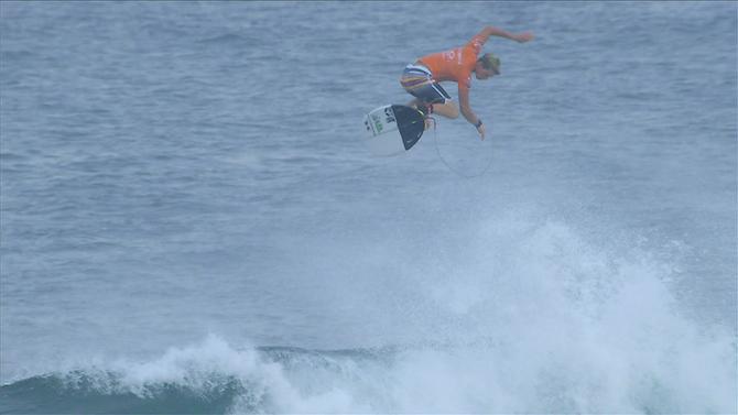 John John Florence Surfing Trick