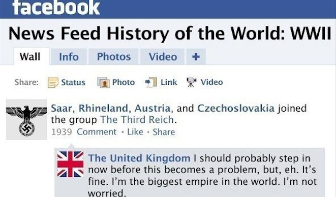 News Feed History Of The World Featured