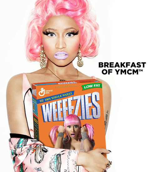 Nicki Minaj Cereal