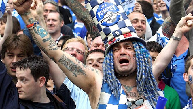 Image result for portsmouth fans