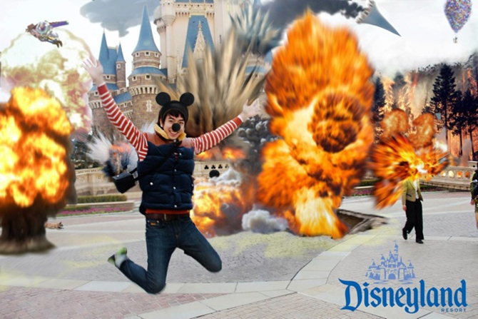 We Do Photoshop Retouched DisneyLand