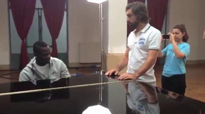 Balotelli Pirlo Piano