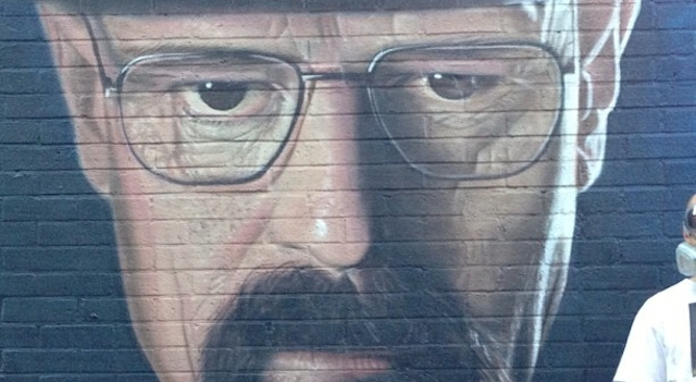 Breaking Bad Graffiti Vandalised