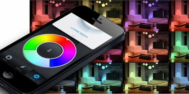 LIFX Colour Changing App