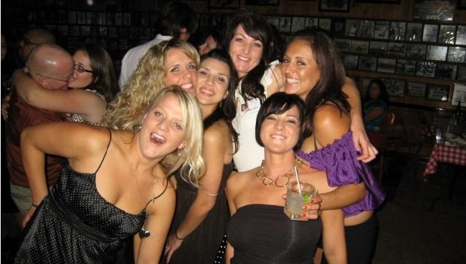 Drunk Girls in Club