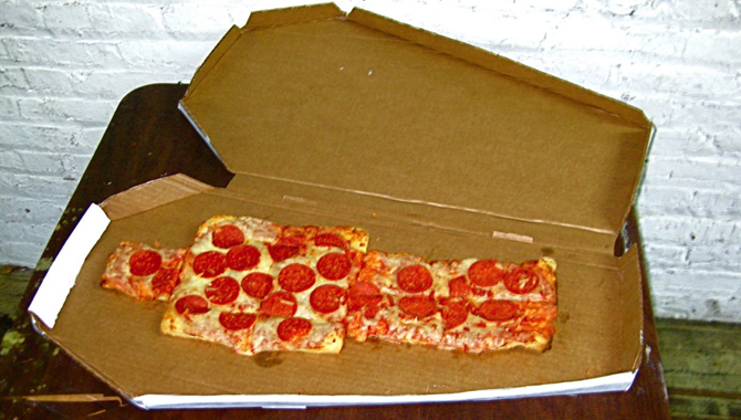 Pizza Coffin