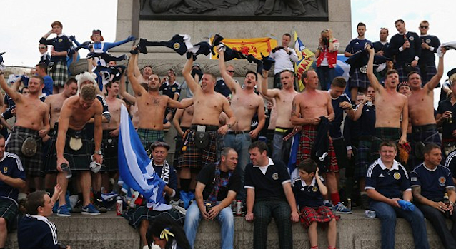 Scots Trafalgar Square Featured