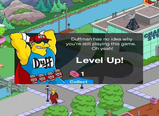Simpsons Tapped Out Insult