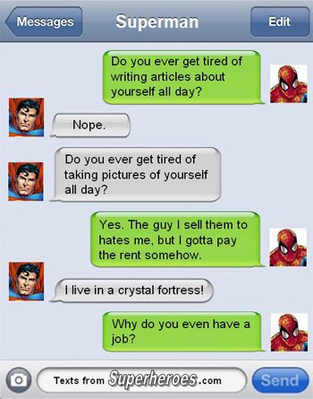 Text From Superheroes 1