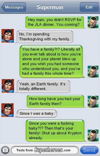Text From Superheroes 3