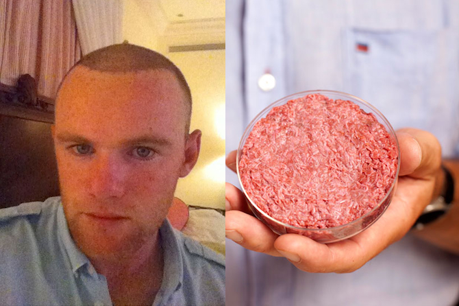 Wayne Rooney Lab Burger