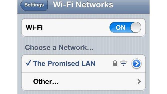 The promised LAN