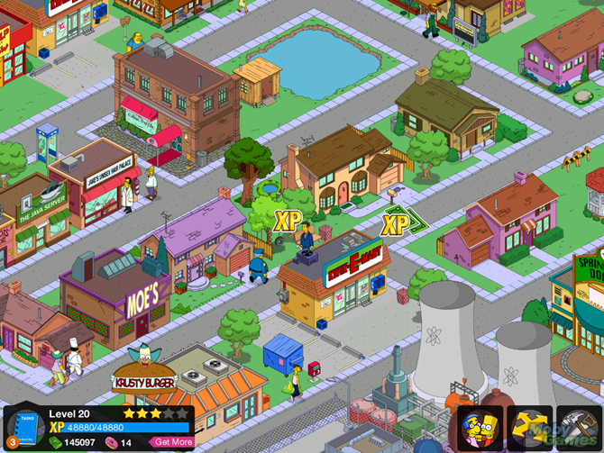 simpsons tapped out screenshot