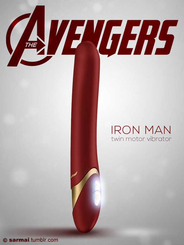 IRON MAN DILDO