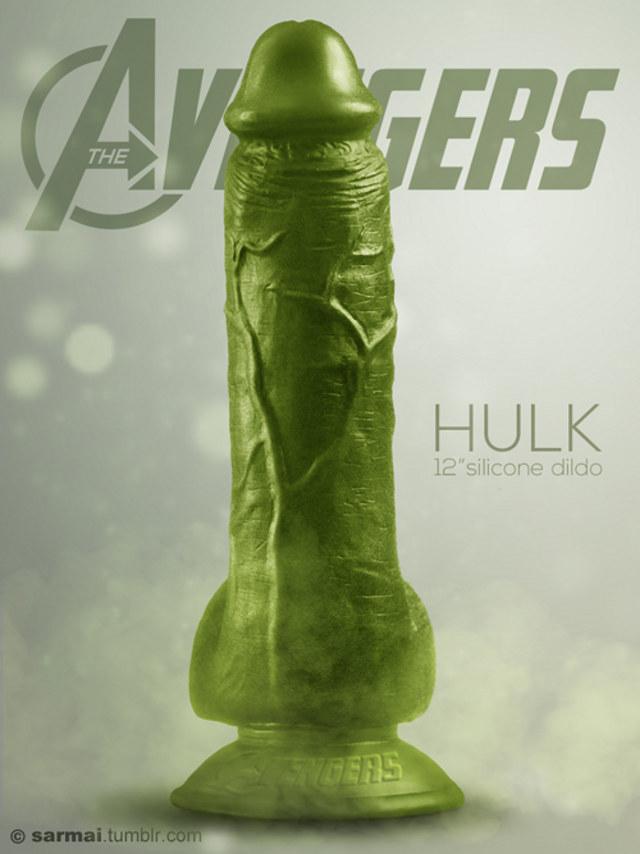 The Hulk Adult Toy Dildo