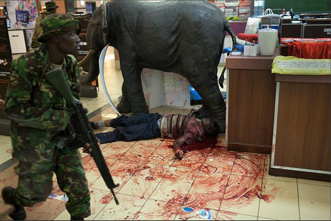 Kenyan Solider