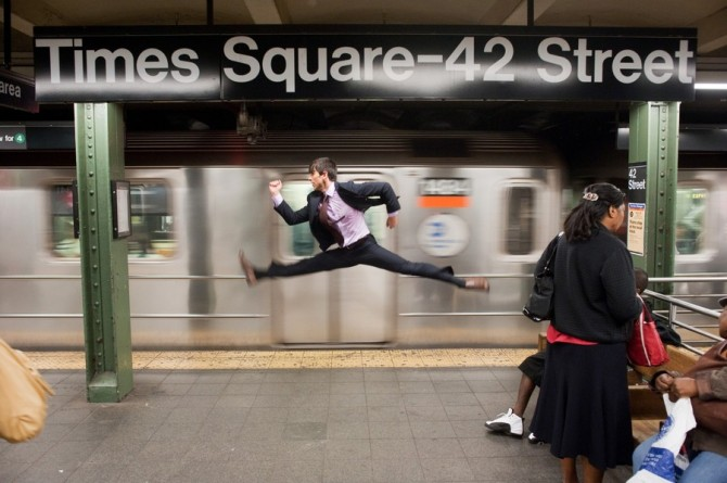 Ballet Dancers In Ordinary Situations 3