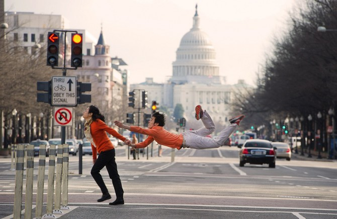Ballet Dancers In Ordinary Situations 4