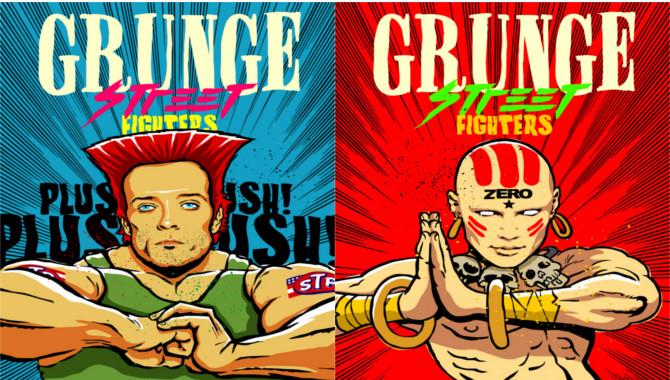 Billy Corgan Scott Weiland Street Fighter