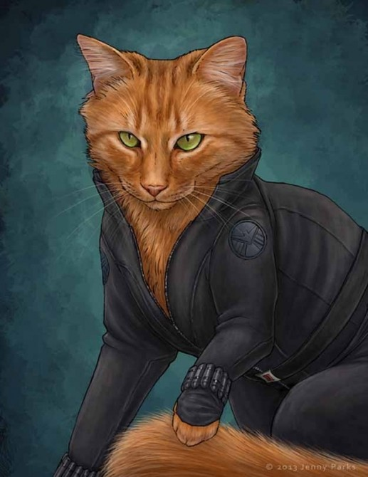 Black Widow Catvengers