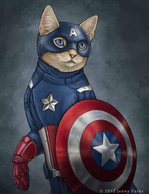 Captain America Catvengers