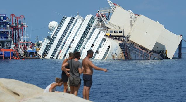 Costa Concordia Featured