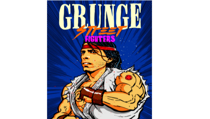 Dave Grohl Street Fighter