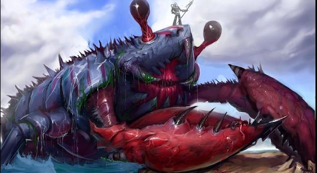 Giant Mutant lobster