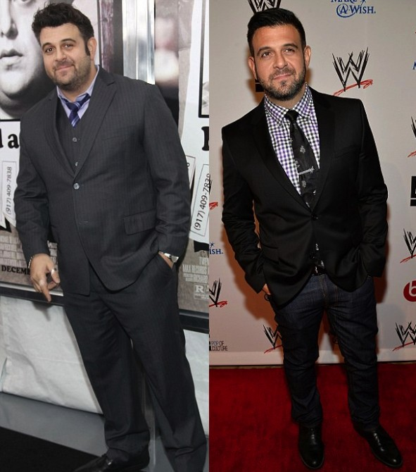 Man Vs Food Loses Weight