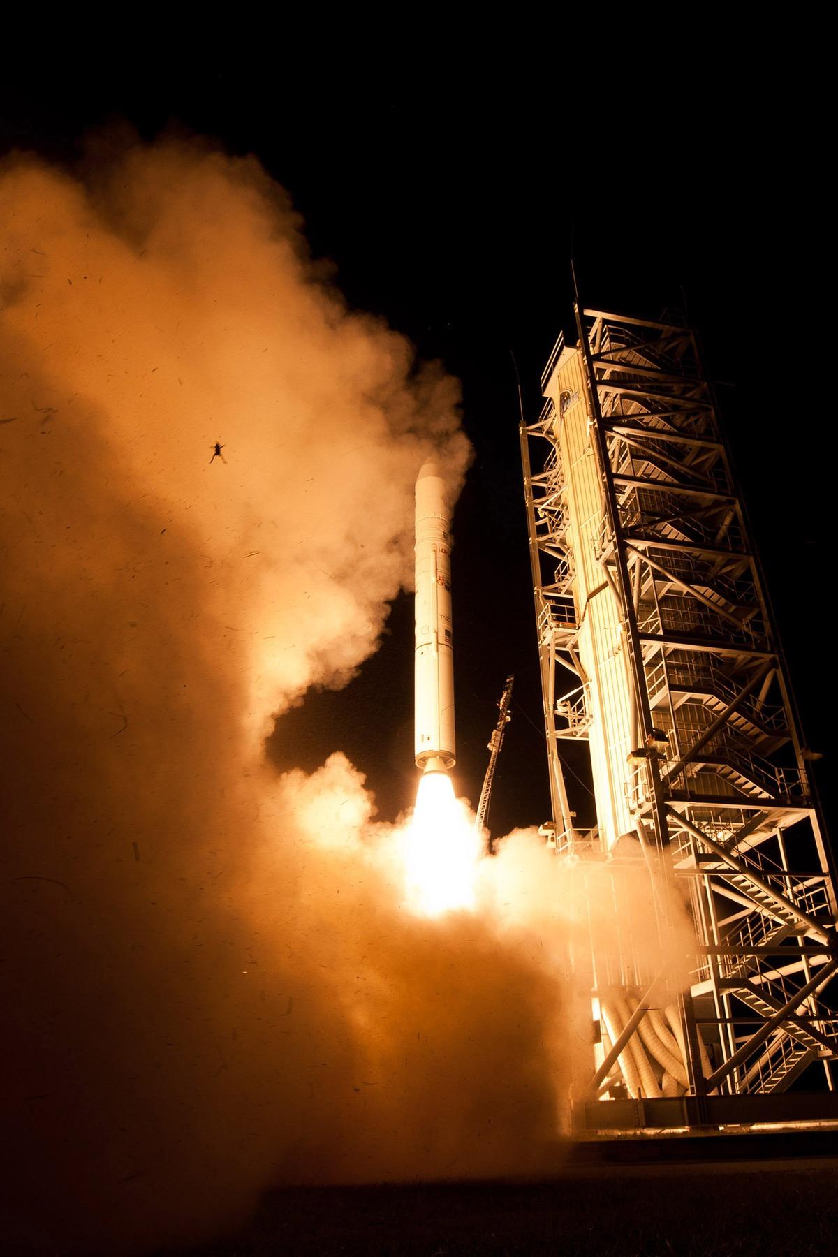 NASA FROG LAUNCH