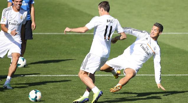 Ronaldo Slides Bale