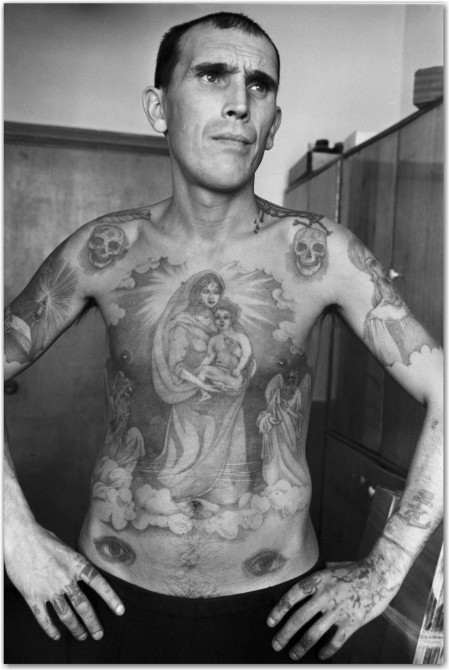 Russian Prison Tattoo - Sergei 2