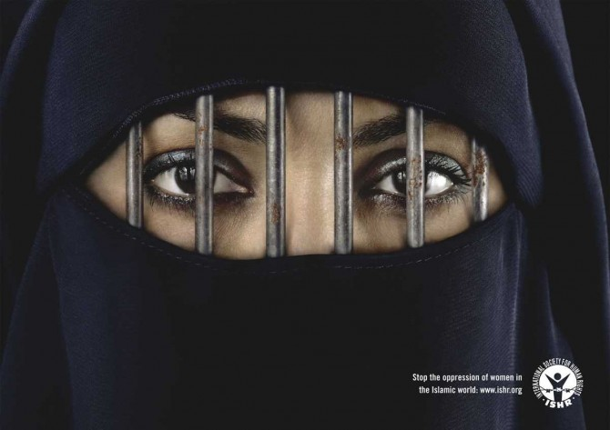 Saudi Arabia - Sexism - Women of action poster