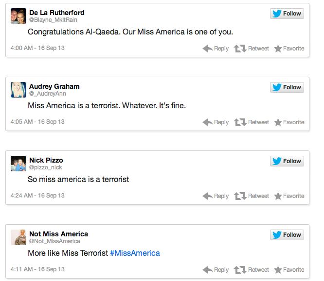 Miss America Tweets 7