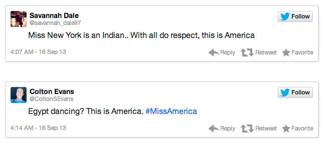 Miss America Tweets 2