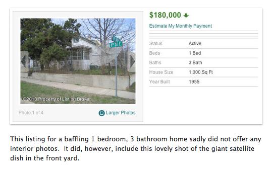 Terrible Real Estate Photos 5
