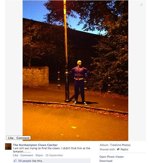 Northampton Clown Catcher 3
