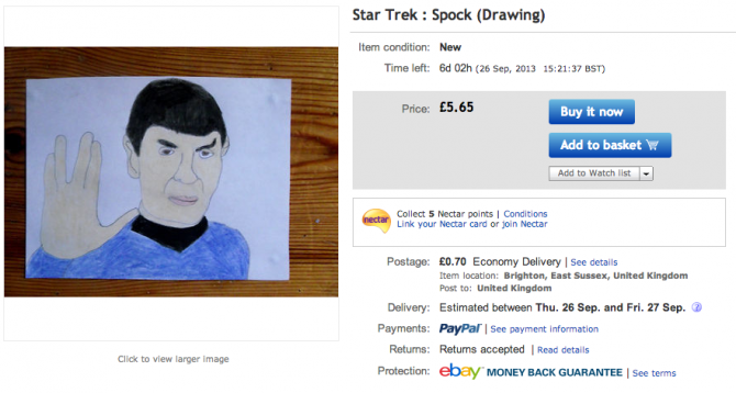 Weirdest eBay Account 17