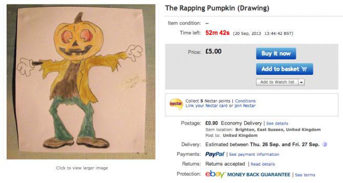 Weirdest eBay Account 3