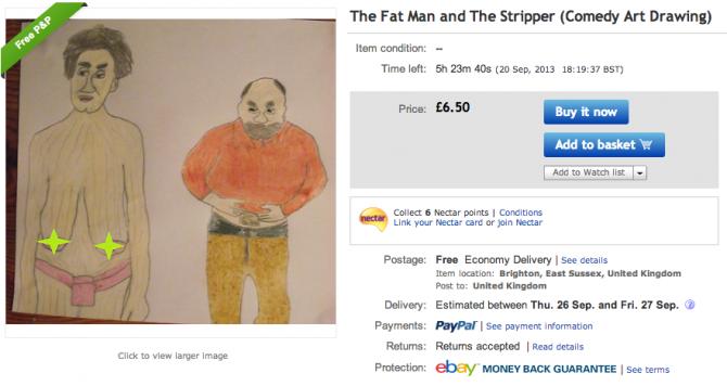 Weirdest eBay Account 1