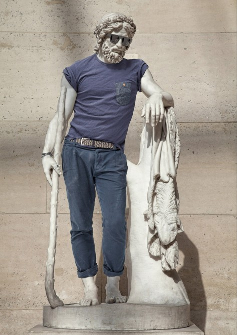 Sculptures Dressed As Hipsters 2