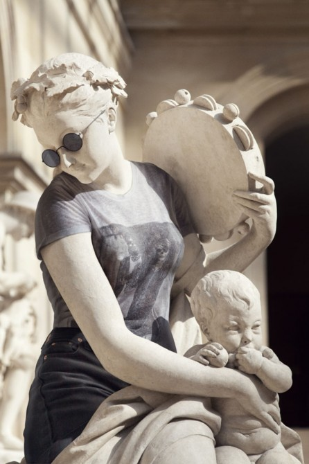 Sculptures Dressed As Hipsters 5