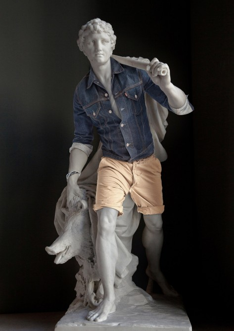 Sculptures Dressed As Hipsters 7