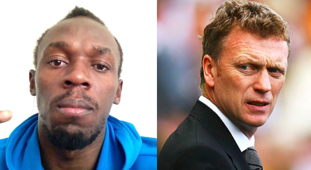 Usain Bolt David Moyes