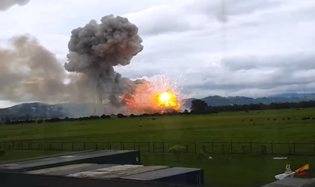 explosion colombia