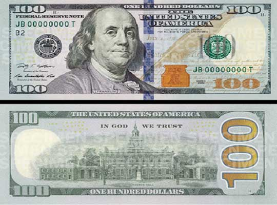 New $100 Bills In America Could Be Worth Over $1000 – Sick ... 100 Dollar Bill