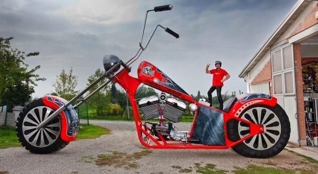 tallest bike
