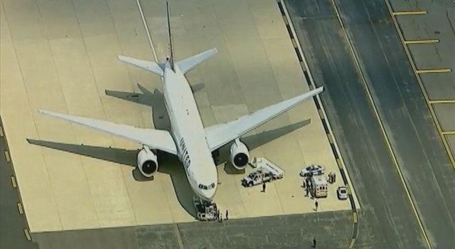plane freak out