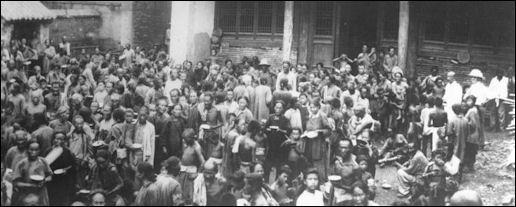 1931 China Floods - Homeless Chniese